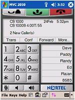 Nortel - Mobile Voice Client 2050